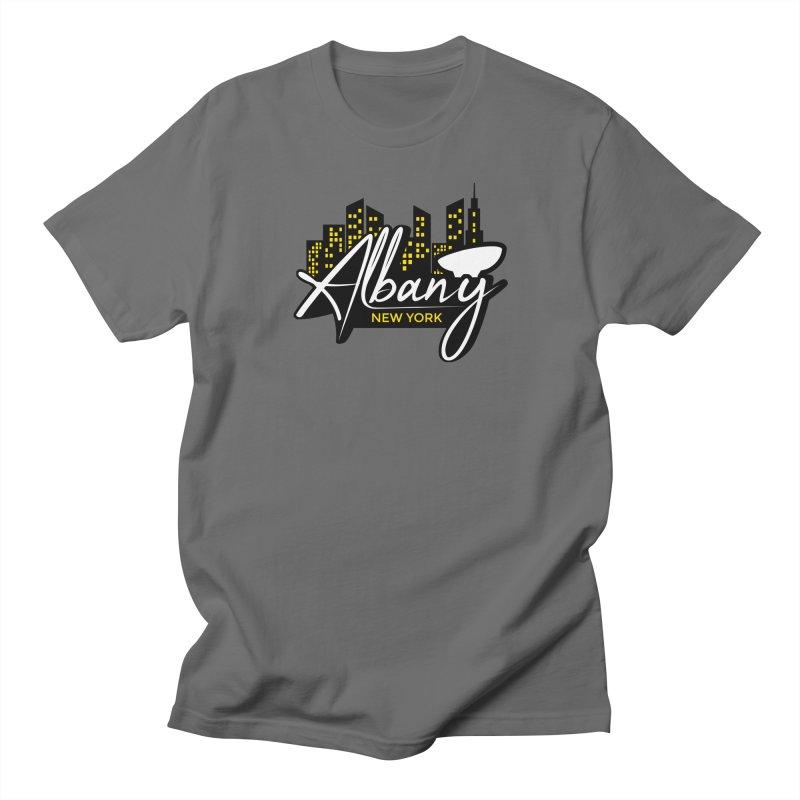 Cap City Men's T-Shirt by AIGA Upstate New York's Artist Shop