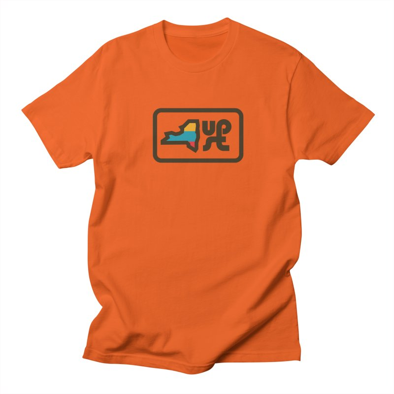 Upstate of Mind Men's T-Shirt by AIGA Upstate New York's Artist Shop
