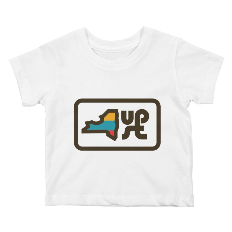 Upstate of Mind Kids Baby T-Shirt by AIGA Upstate New York's Artist Shop