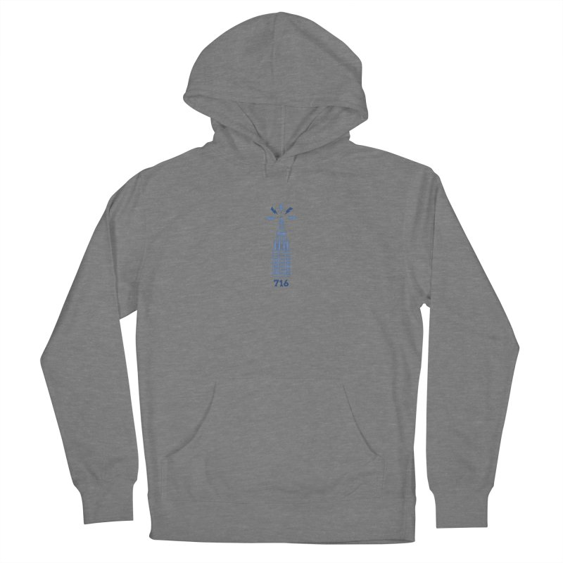 716 Women's Pullover Hoody by AIGA Upstate New York's Artist Shop