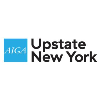 AIGA Upstate New York's Artist Shop Logo