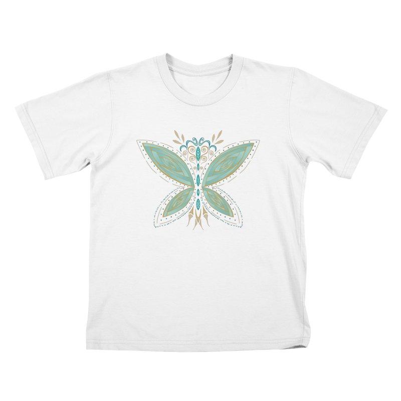 Butterfly Kids T-shirt by SwishySwish