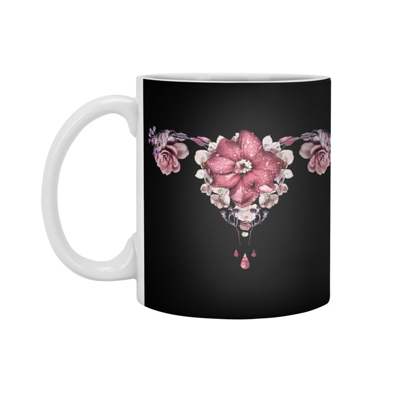 Let it flow ♡ Black collection Accessories Standard Mug by Ainoa – Dare to live