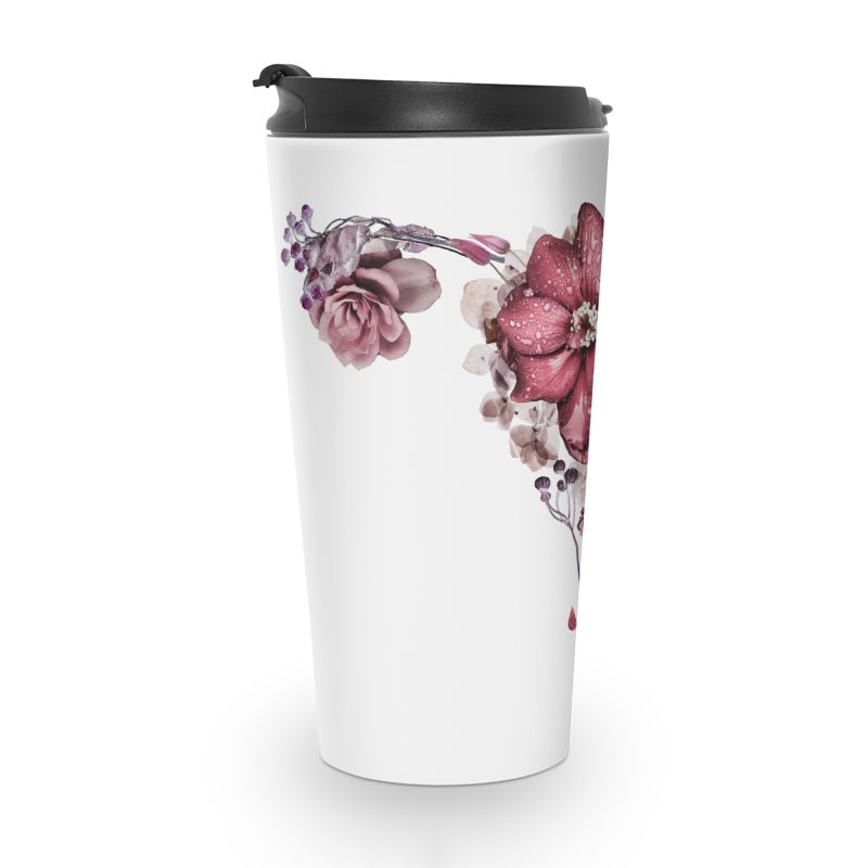 Let it flow ♡ White Collection Accessories Travel Mug by Ainoa – Dare to live