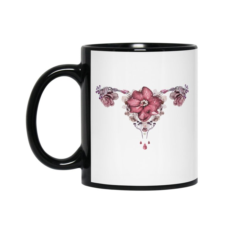 Let it flow ♡ White Collection Accessories Mug by Ainoa – Dare to live