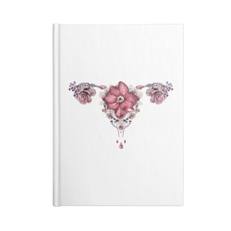 Let it flow ♡ White Collection Accessories Blank Journal Notebook by Ainoa – Dare to live