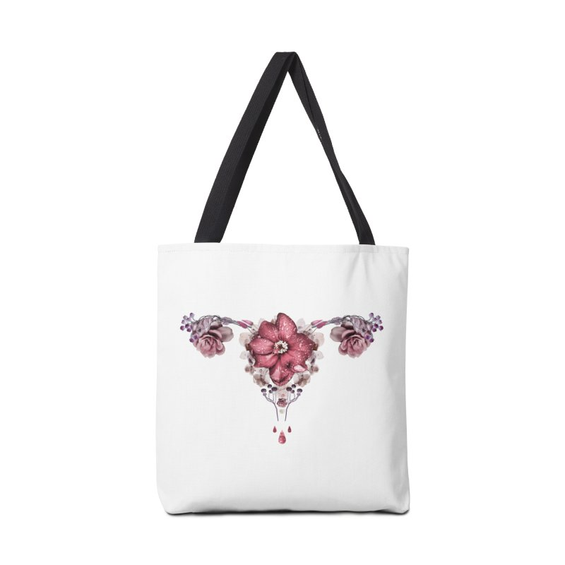 Let it flow ♡ White Collection Accessories Bag by Ainoa – Dare to live