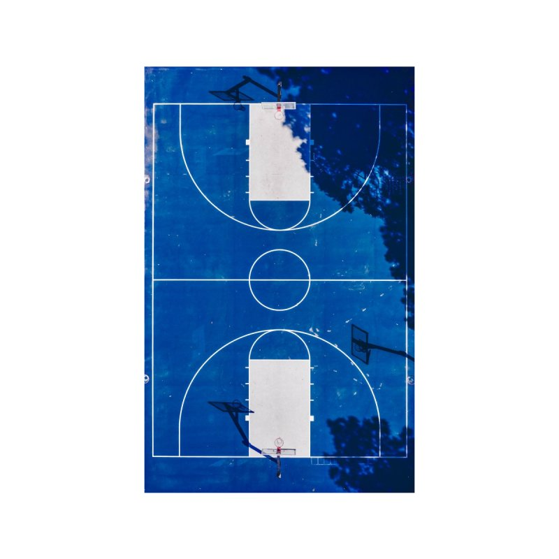 Blue Hoops Accessories Greeting Card by AirStory's Shop