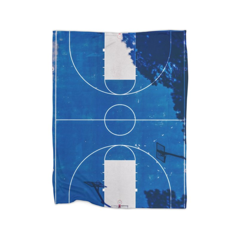 Blue Hoops Home Blanket by AirStory's Shop