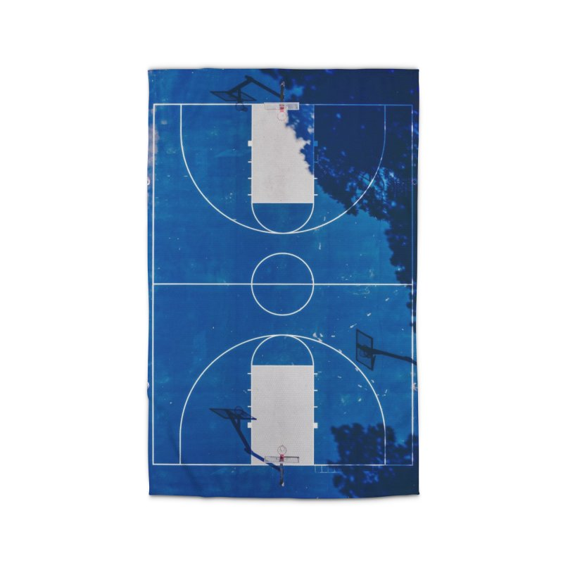 Blue Hoops Home Rug by AirStory's Shop