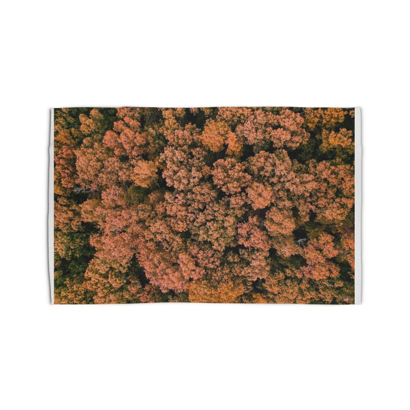 Fall Forest Home Rug by AirStory's Shop