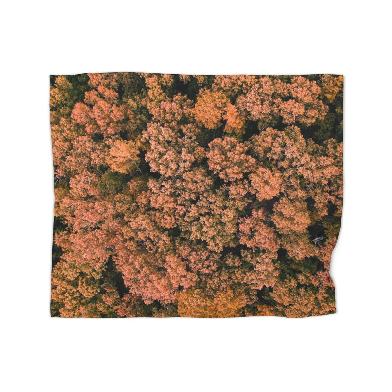 Fall Forest Home Blanket by AirStory's Shop