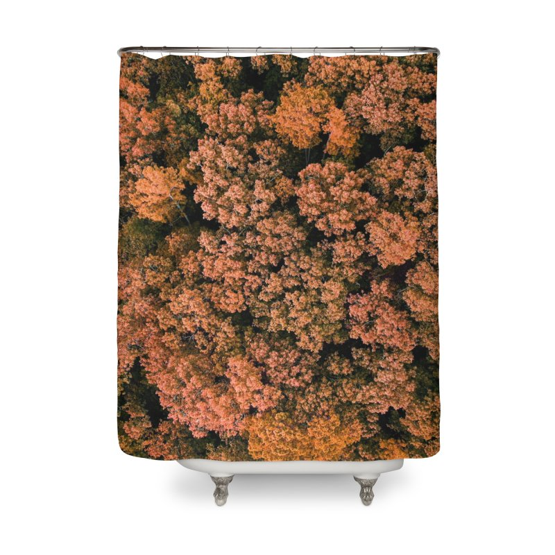Fall Forest Home Shower Curtain by AirStory's Shop
