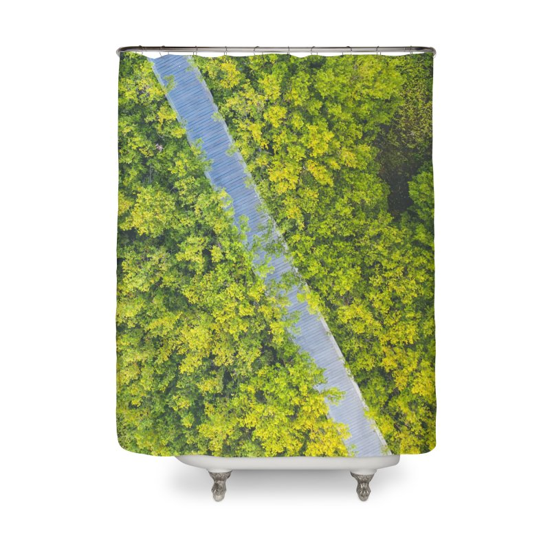 Nature Walk Home Shower Curtain by AirStory's Shop