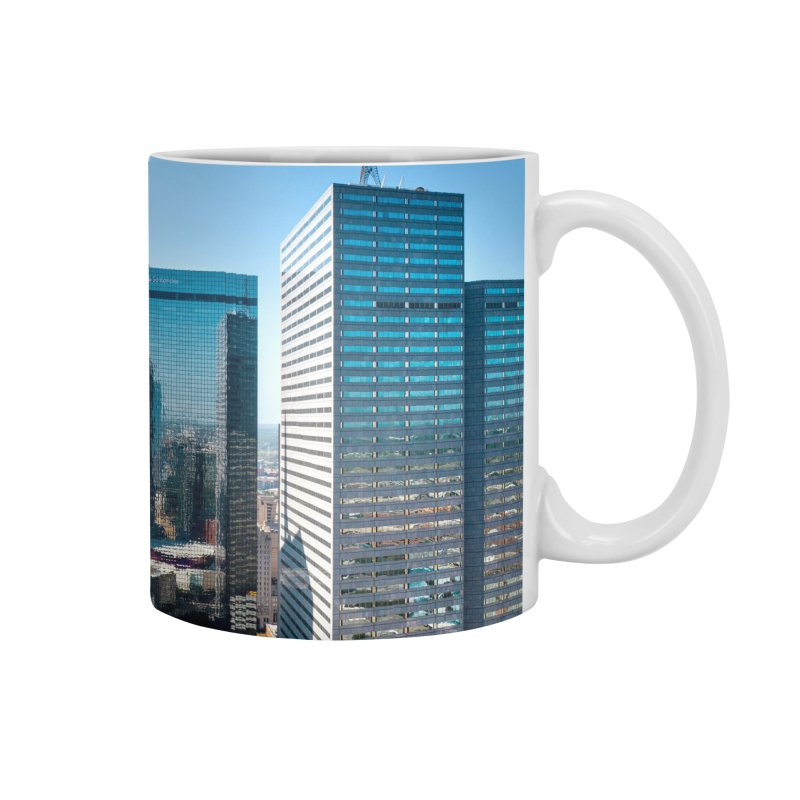 Downtown Dallas Accessories Mug by AirStory's Shop