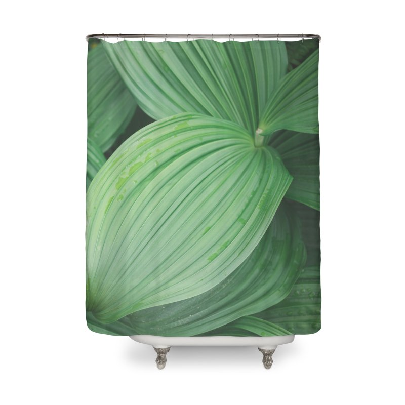 Leafy Textures Home Shower Curtain by AirStory's Shop