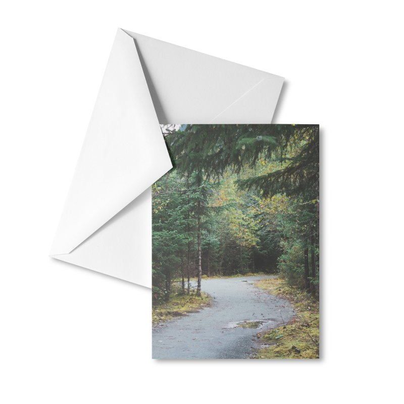 Forest Trail Accessories Greeting Card by AirStory's Shop