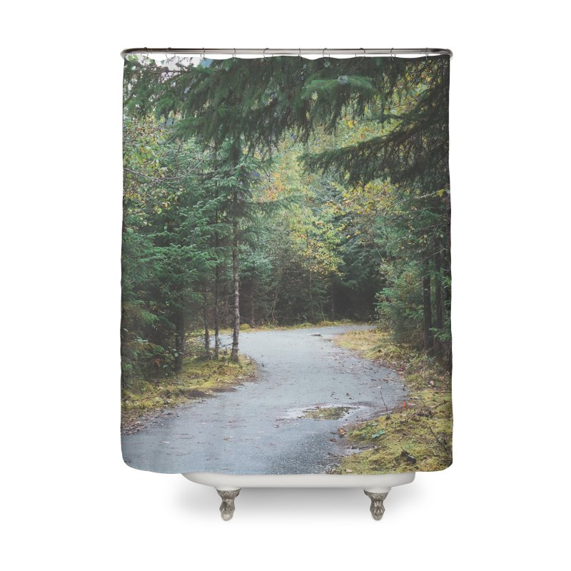 Forest Trail Home Shower Curtain by AirStory's Shop