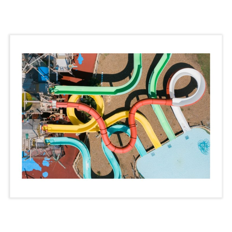 Twisty Time Home Fine Art Print by AirStory's Shop