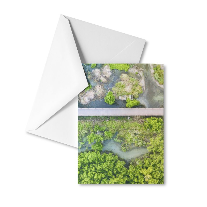 Marshy Lagoon Accessories Greeting Card by AirStory's Shop