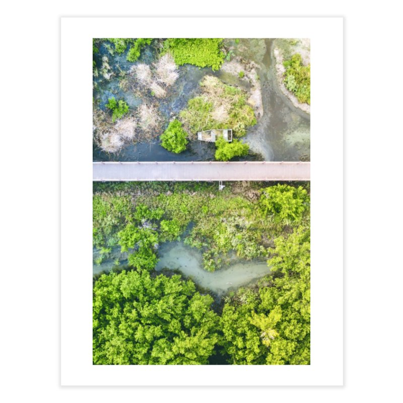 Marshy Lagoon Home Fine Art Print by AirStory's Shop