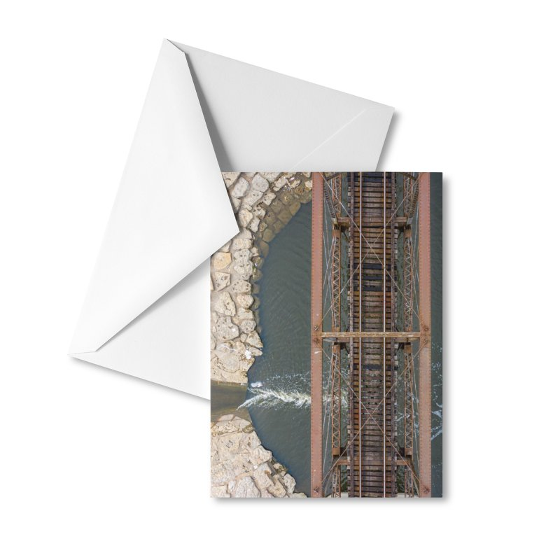 Trinity Railroad Accessories Greeting Card by AirStory's Shop