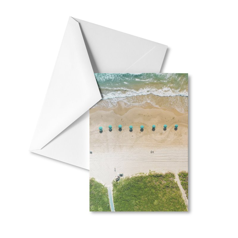 To The Beach Accessories Greeting Card by AirStory's Shop