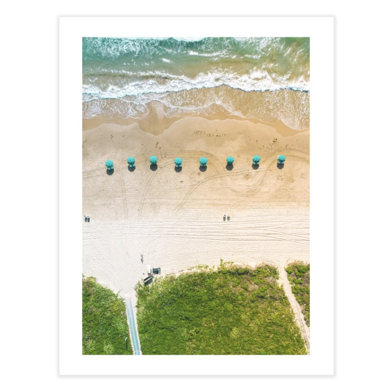To The Beach Home Fine Art Print by AirStory's Shop