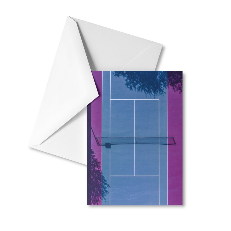 Retro Court Accessories Greeting Card by AirStory's Shop