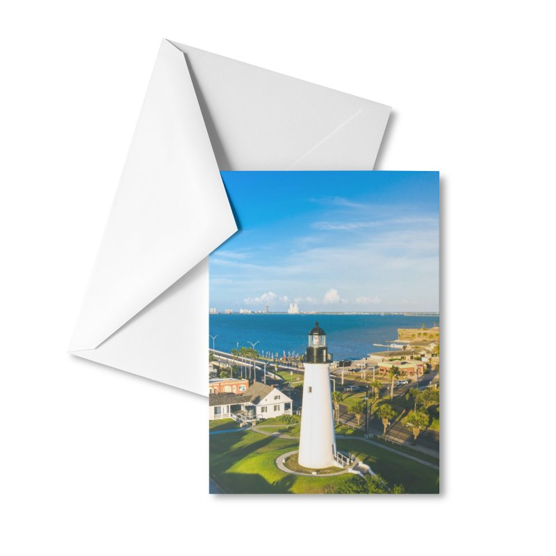 Port Isabel Lighthouse Accessories Greeting Card by AirStory's Shop