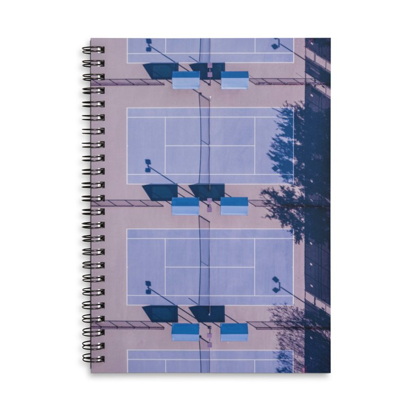 Pastel Courts Accessories Notebook by AirStory's Shop