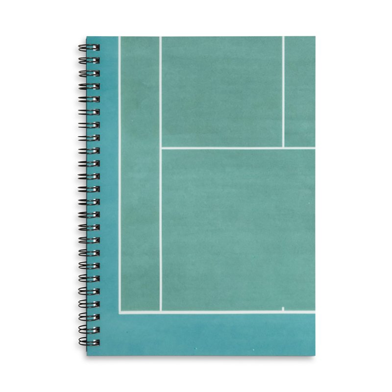 Minimal Court Accessories Notebook by AirStory's Shop