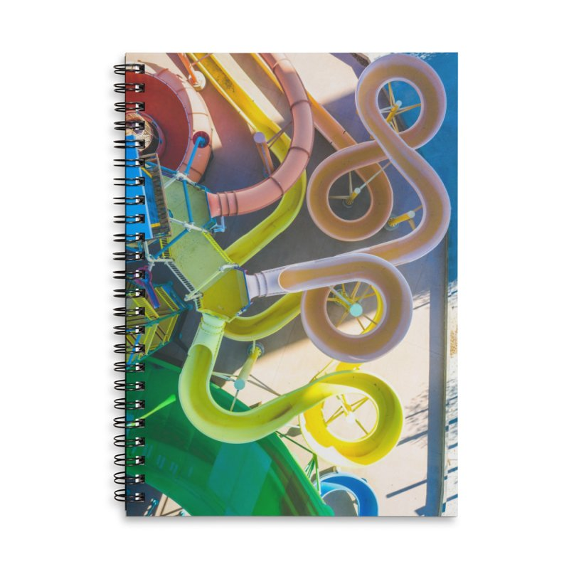 Rainbow Slides Accessories Notebook by AirStory's Shop