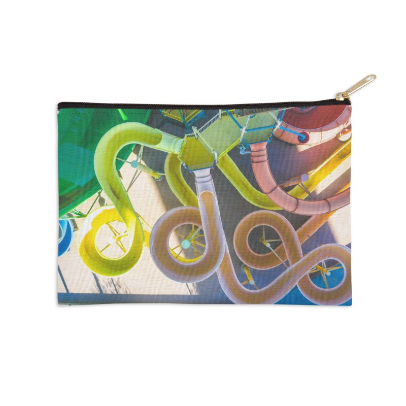 Rainbow Slides Accessories Zip Pouch by AirStory's Shop