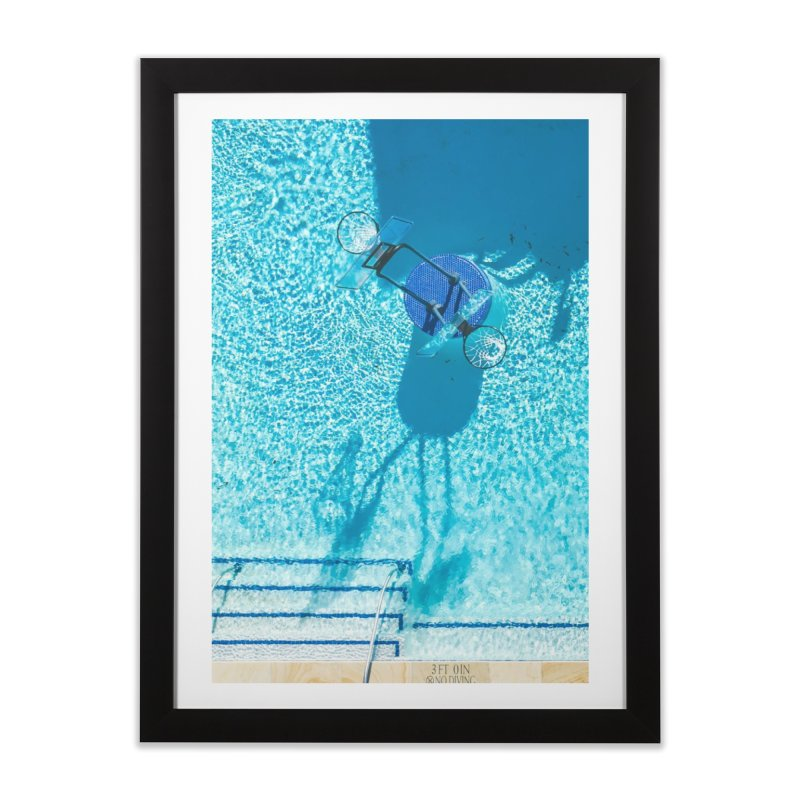 Pool Hoops Home Framed Fine Art Print by AirStory's Shop
