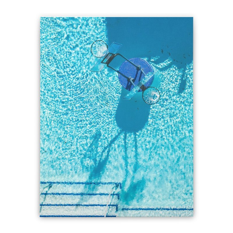 Pool Hoops Home Stretched Canvas by AirStory's Shop