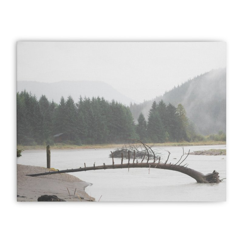 River Tree Home Stretched Canvas by AirStory's Shop