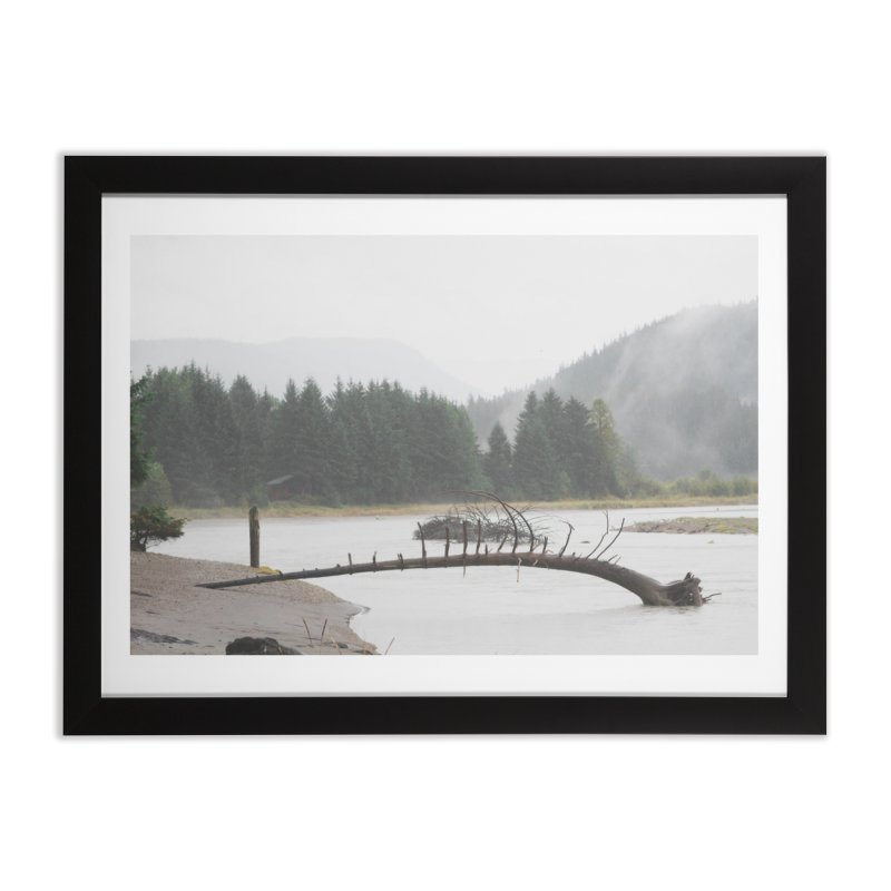 River Tree Home Framed Fine Art Print by AirStory's Shop