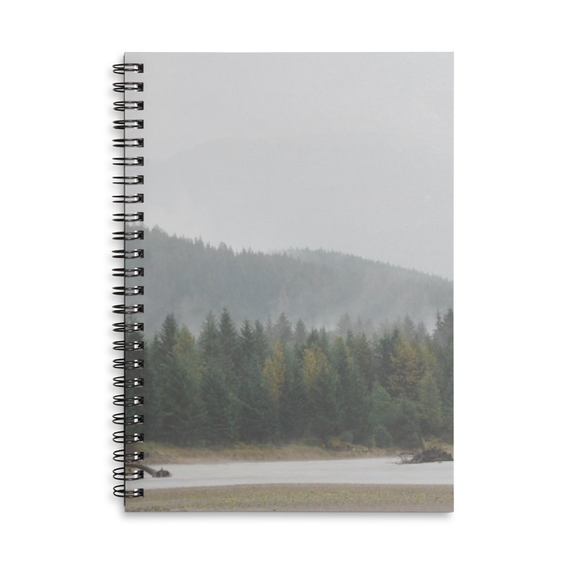 Foggy Landscape Accessories Notebook by AirStory's Shop