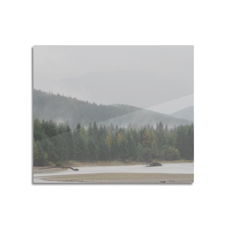 Foggy Landscape Home Mounted Aluminum Print by AirStory's Shop