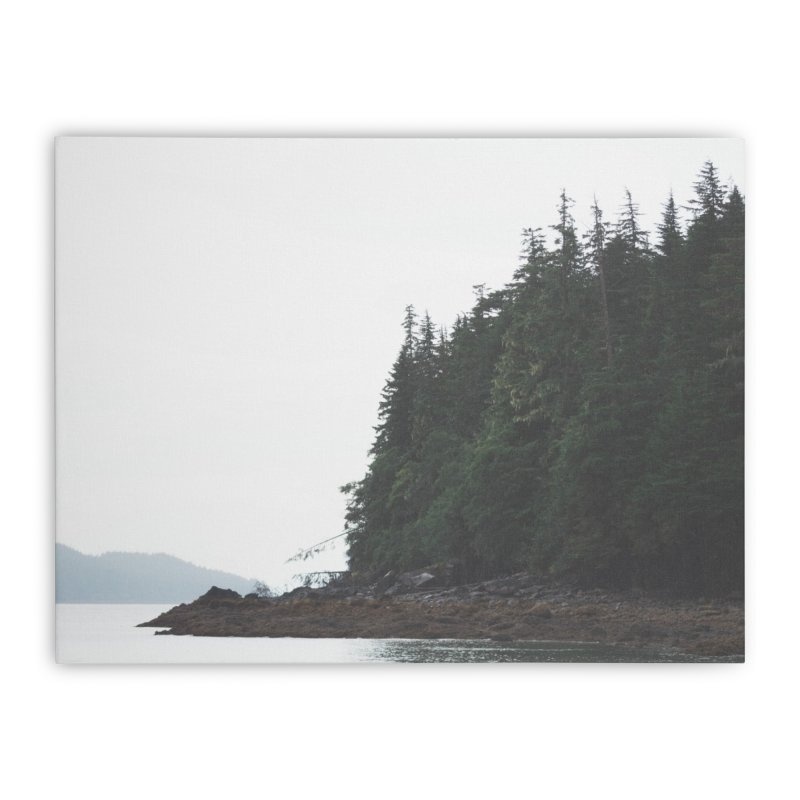 Tree Line Home Stretched Canvas by AirStory's Shop