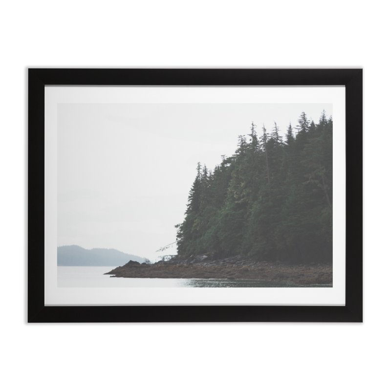 Tree Line Home Framed Fine Art Print by AirStory's Shop