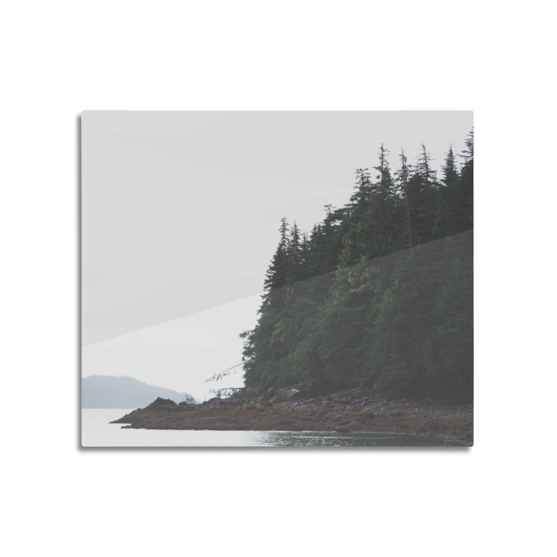 Tree Line Home Mounted Acrylic Print by AirStory's Shop