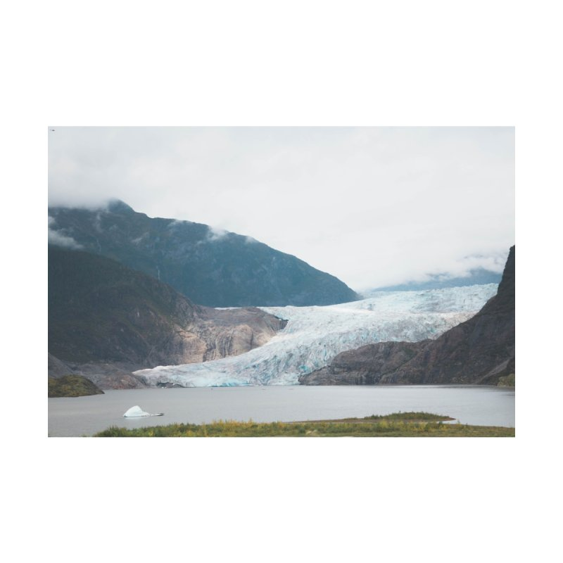 Glacier Views Home Mounted Acrylic Print by AirStory's Shop