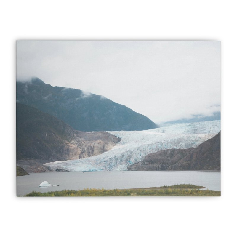 Glacier Views Home Stretched Canvas by AirStory's Shop