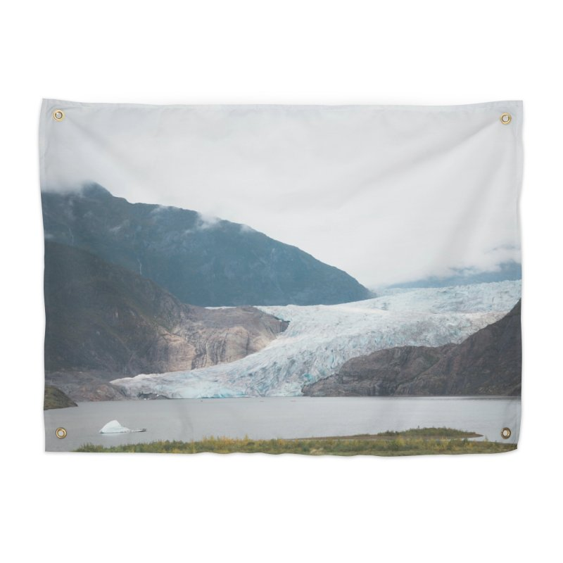 Glacier Views Home Tapestry by AirStory's Shop