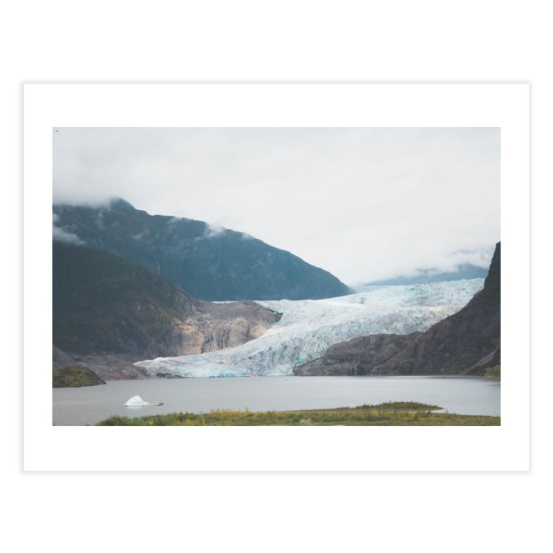 Glacier Views Home Fine Art Print by AirStory's Shop