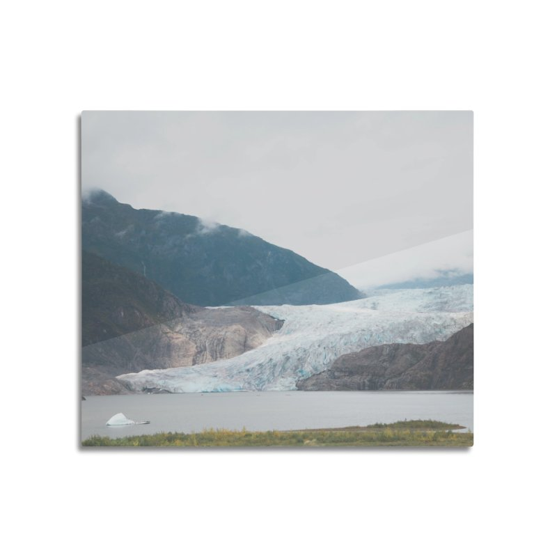 Glacier Views Home Mounted Aluminum Print by AirStory's Shop