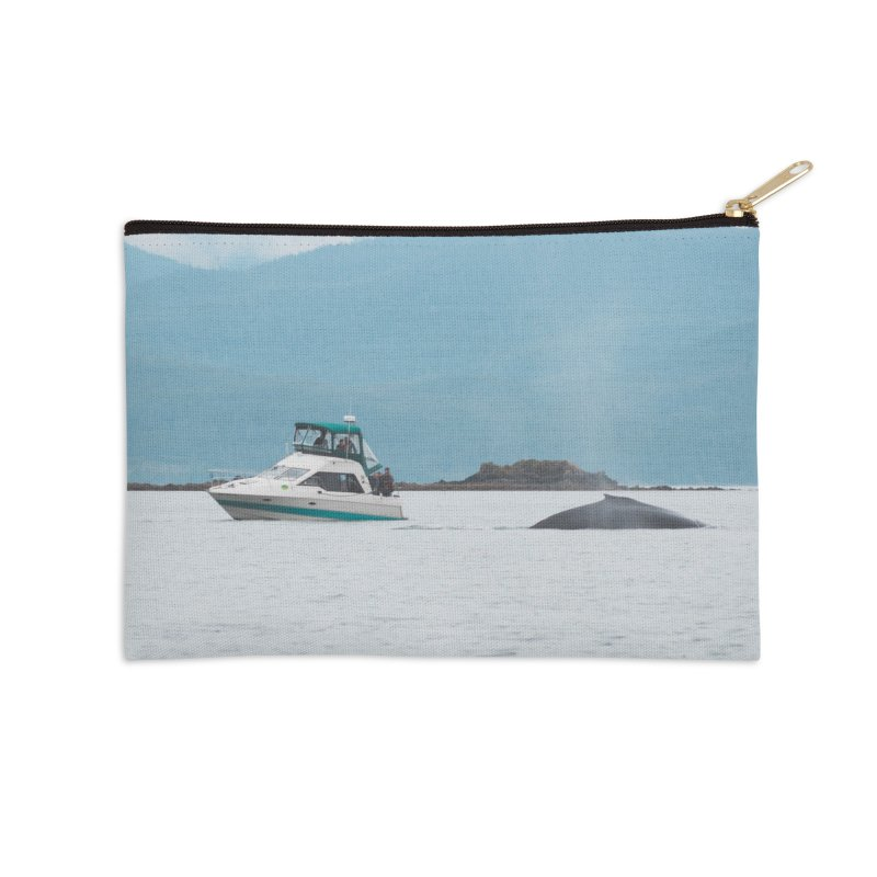 Whale Watching Accessories Zip Pouch by AirStory's Shop