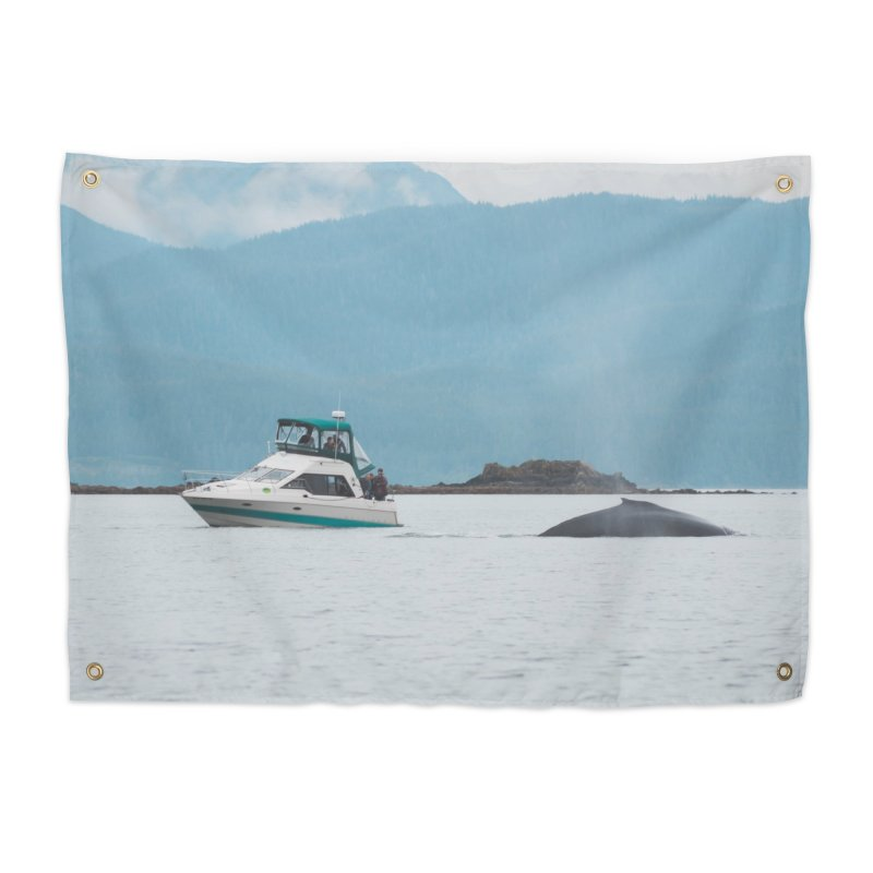 Whale Watching Home Tapestry by AirStory's Shop